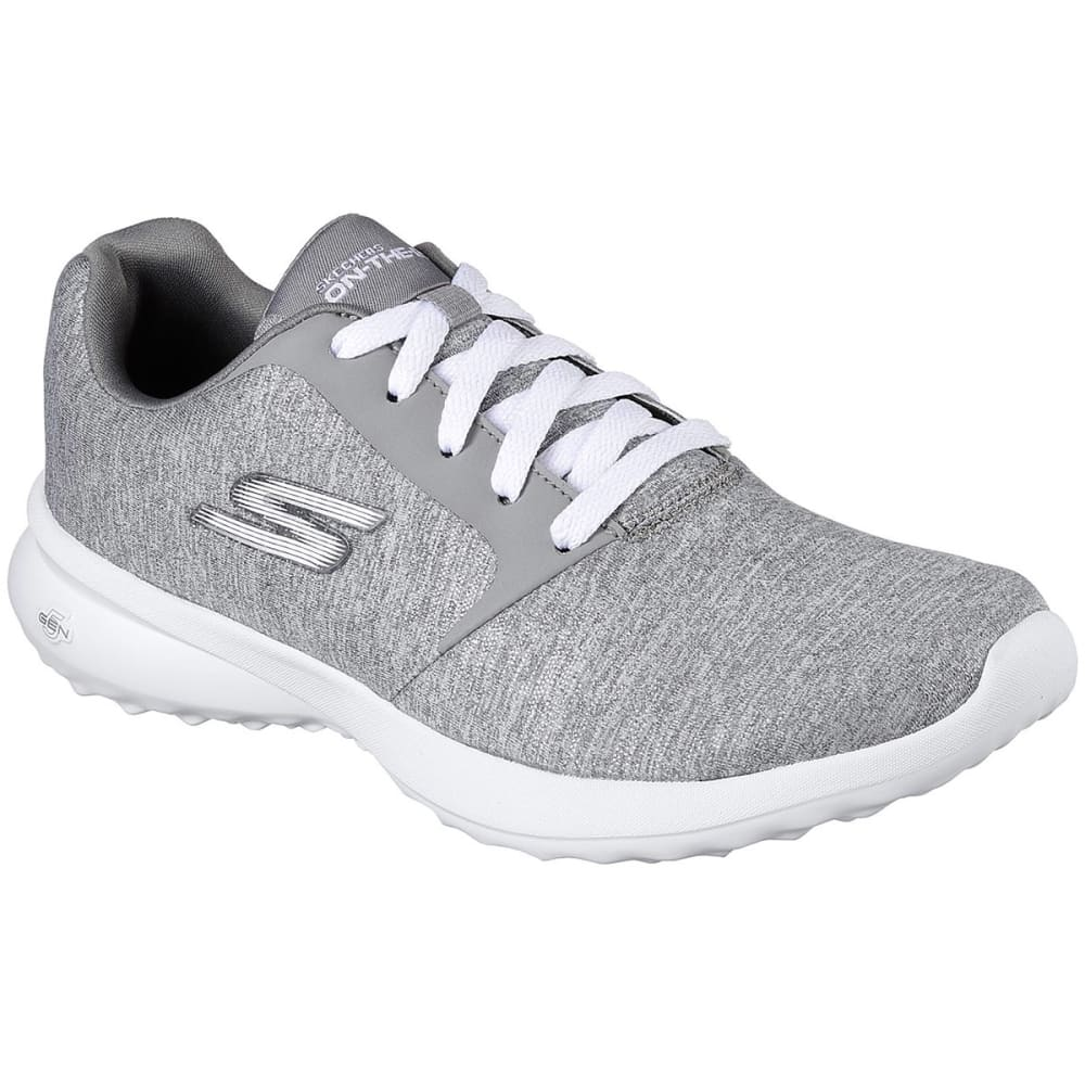 SKECHERS Women's On The Go City 3 - Renovated Sneakers, Heather Gray 6