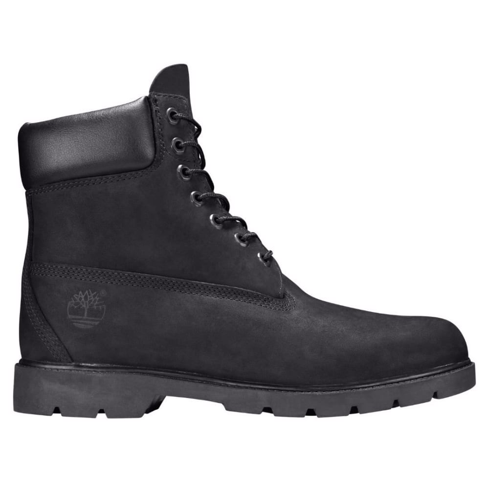 TIMBERLAND Men's 6 in. Basic Waterproof Insulated Work Boots, Black - BLACK