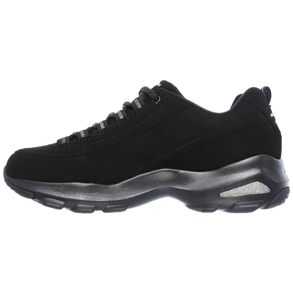 SKECHERS Women's D'Lites Ultra  Reverie Sneakers, Black - BLACK