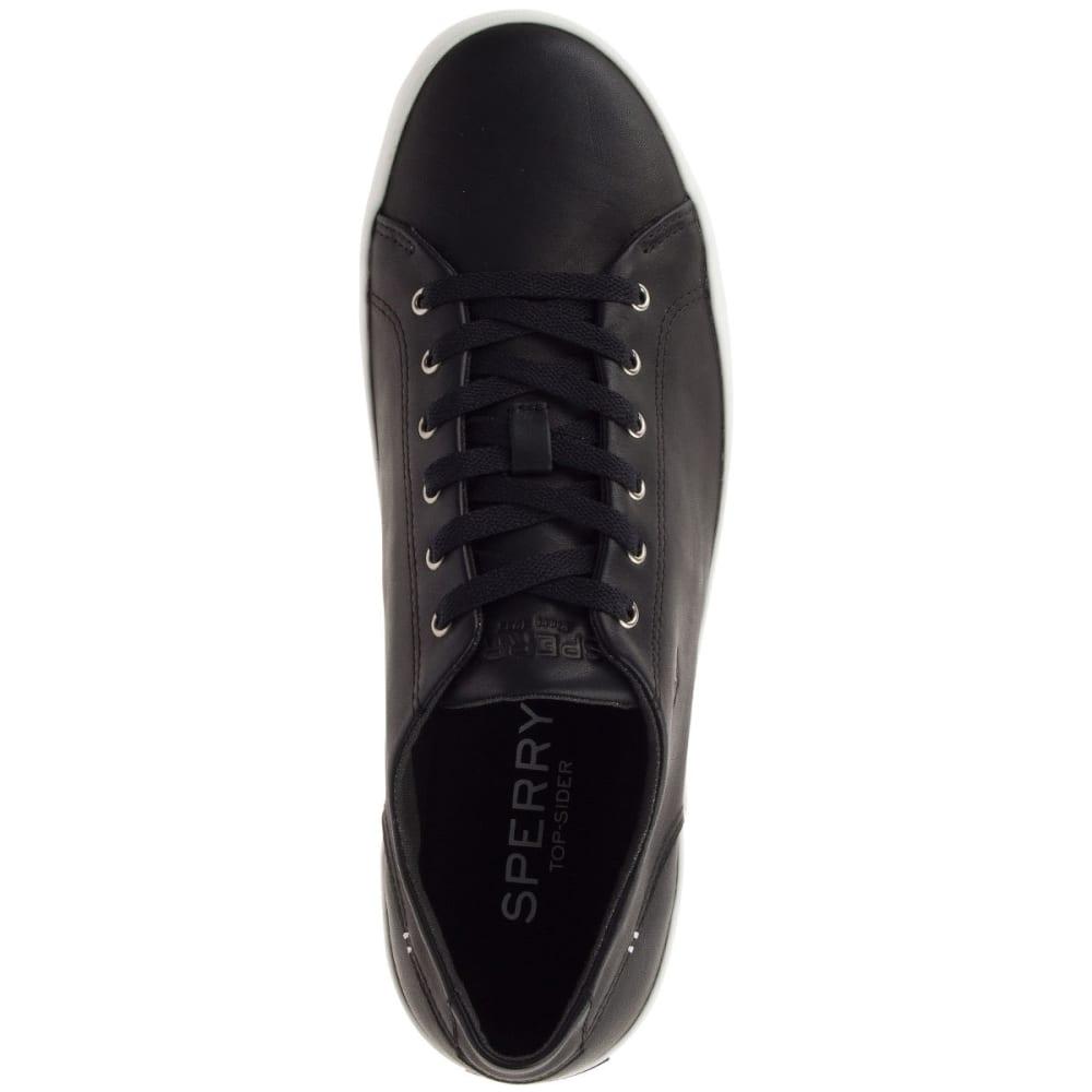 SPERRY Men's Wahoo LTT Sneakers, Black Leather - BLACK