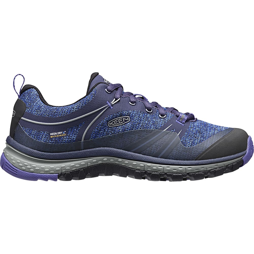 KEEN Women's Terradora Waterproof Hiking Shoes, Astral Aura/Liberty 6