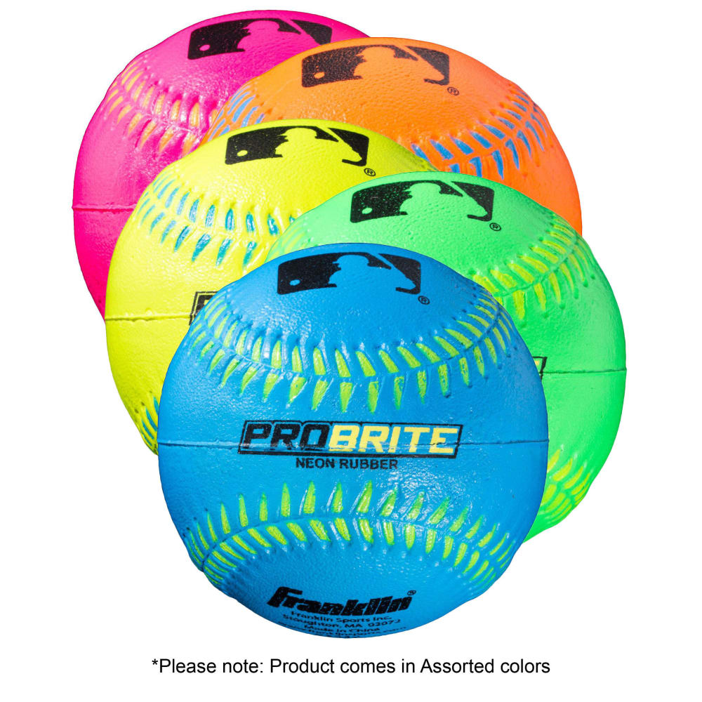 FRANKLIN Probrite Rubber Teeball - ASSORTED