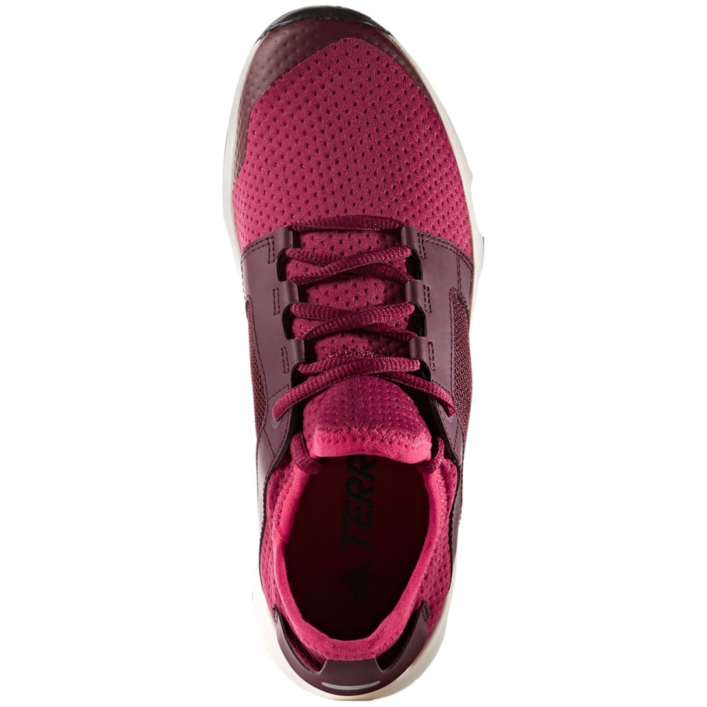 ADIDAS Women's Terrex Voyager DLX Outdoor Shoes, Mystery Ruby/Burgundy - RUBY