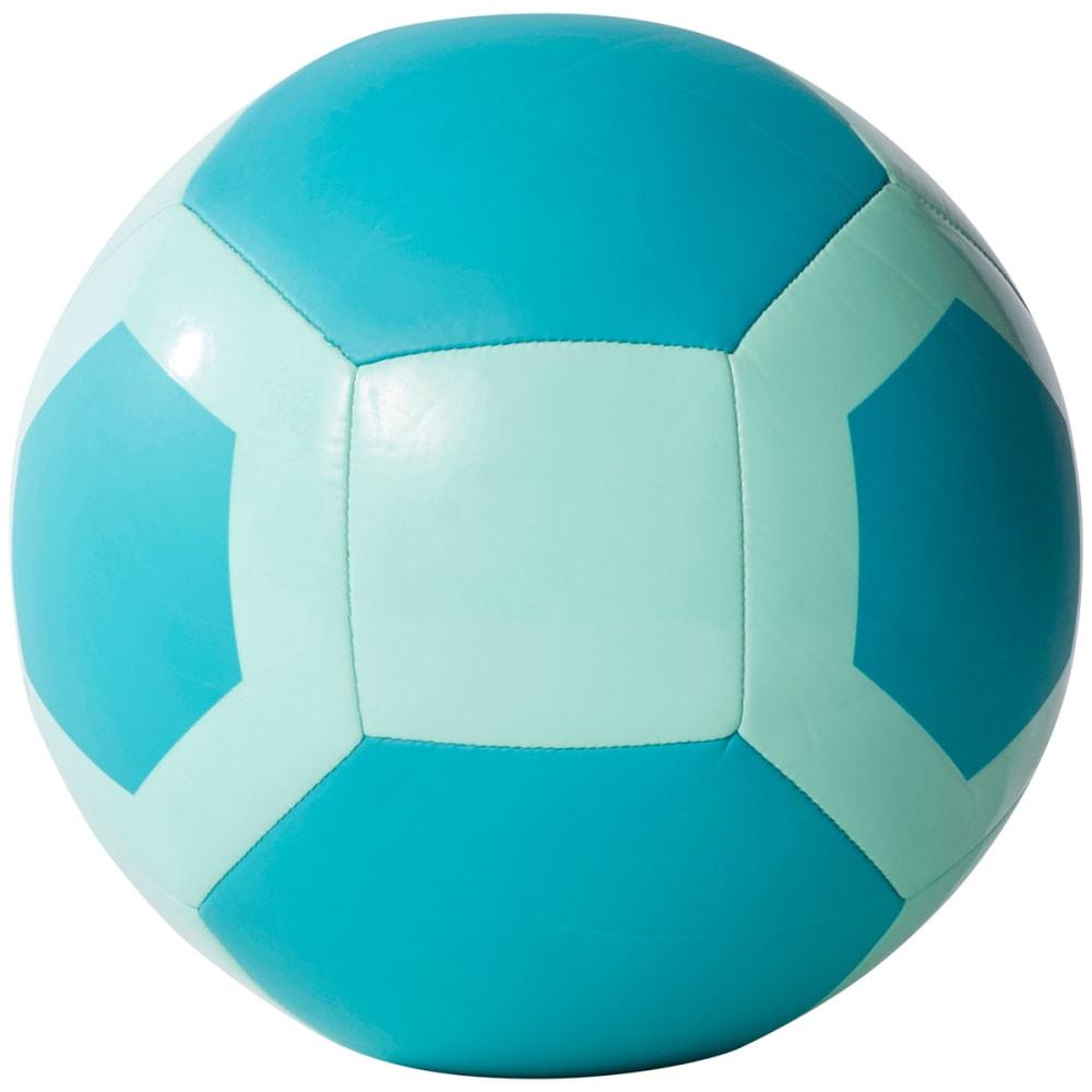 ADIDAS Glider II Soccer Ball, Energy/Aqua/Solar Yellow - ENERGY AQUA/ENERGY B