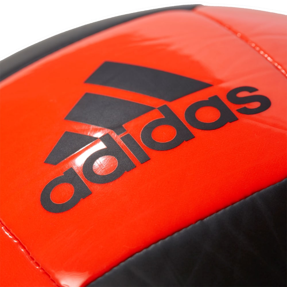 ADIDAS Glider II Soccer Ball, Black/Red - BLACK/RED