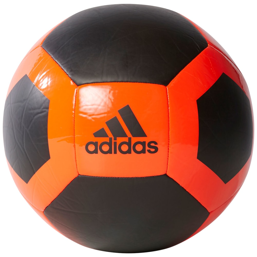 ADIDAS Glider II Soccer Ball, Black/Red - BLACK/RED