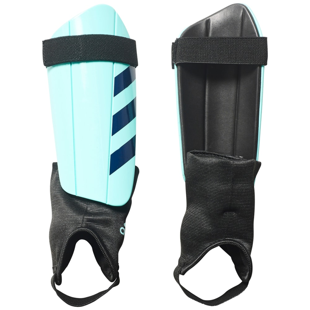 ADIDAS Adult Ghost Club Soccer Shinguards - ENERGY AQUA/BLK
