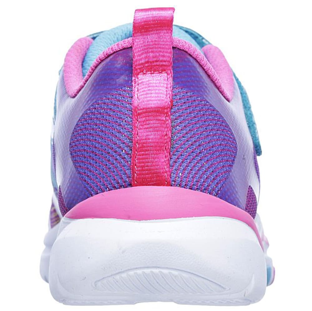SKECHERS Girls' Trainer Lite - Dash N Dazzle Sneakers, Multi - MULTI