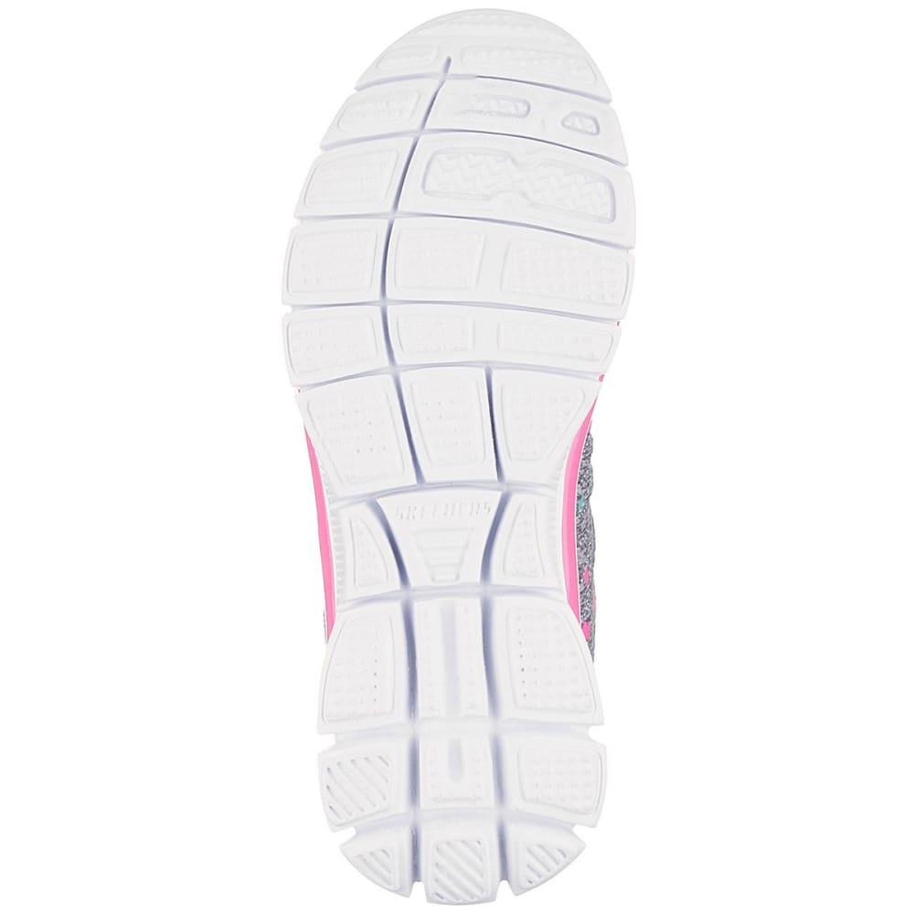 SKECHERS Girls' Skech Appeal – Star Streamer Sneakers, Gray/Mint - CHARCOAL