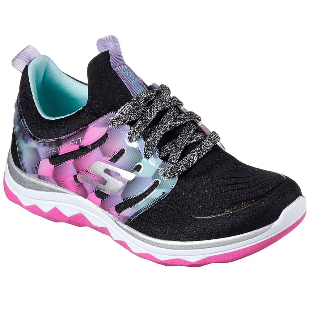 SKECHERS Girls' Grade School Diamond Runner Sneakers 4