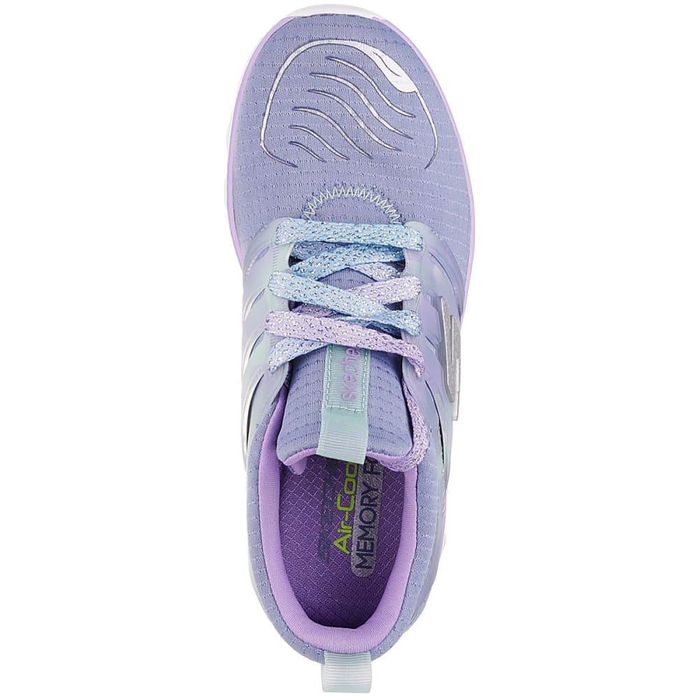 SKECHERS Girls' Grade School Diamond Runner Sneakers - GREY-GYLV