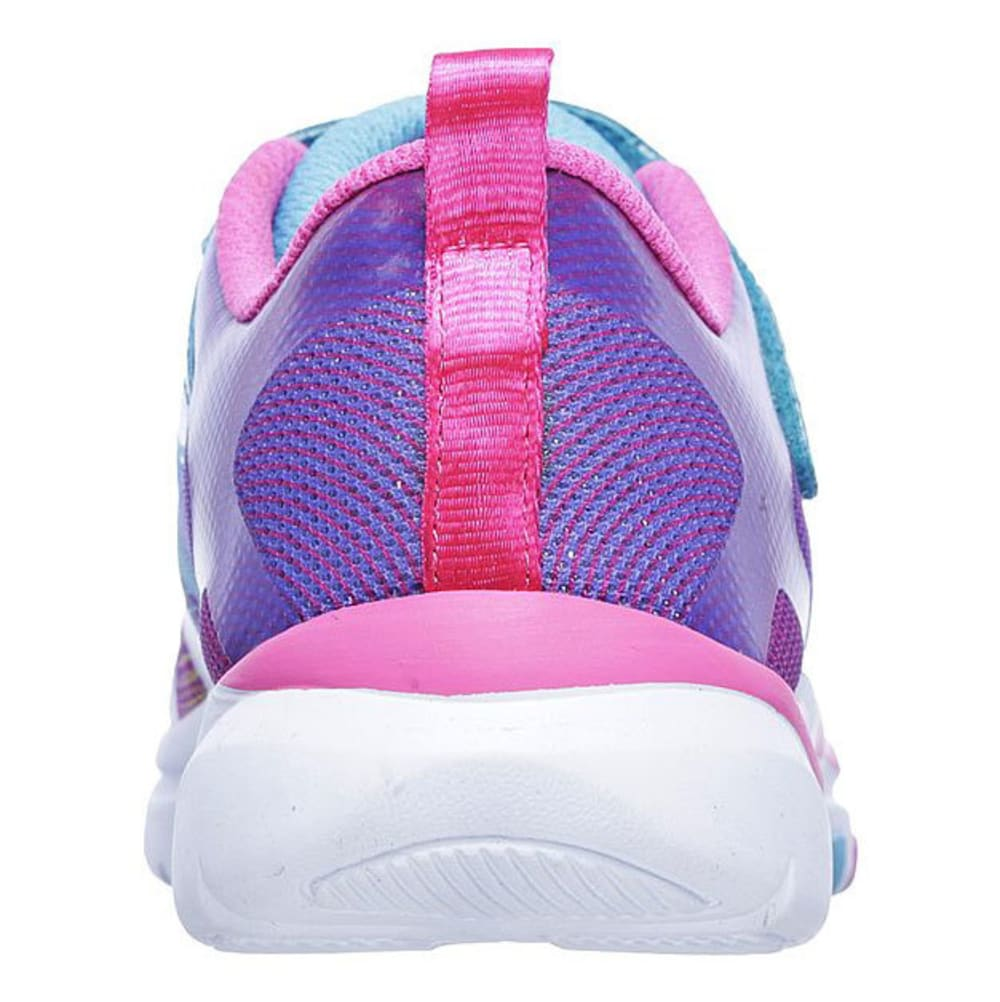 SKECHERS Toddler Girls' Trainer Lite - Dash N Dazzle Sneakers, Multi - MULTI
