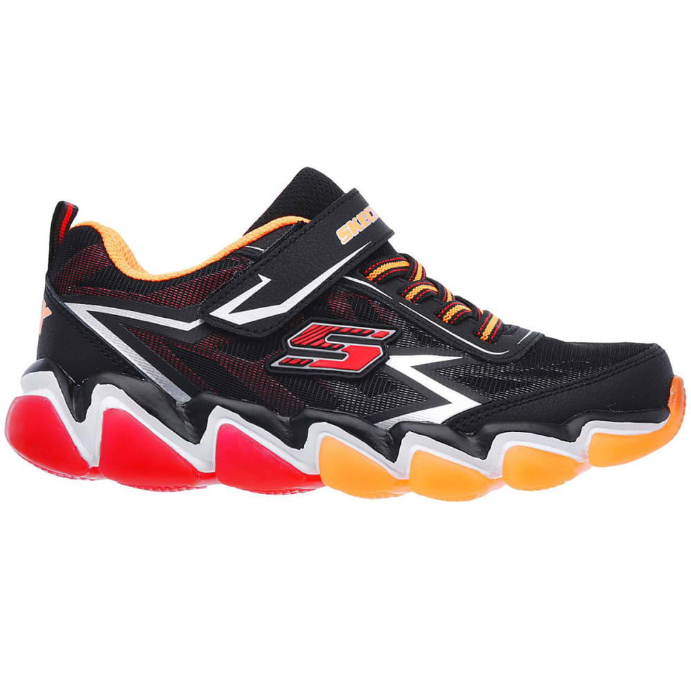 SKECHERS Boys' Skech-Air 3.0 – Downswitch Sneakers, Black/Red - BLACK