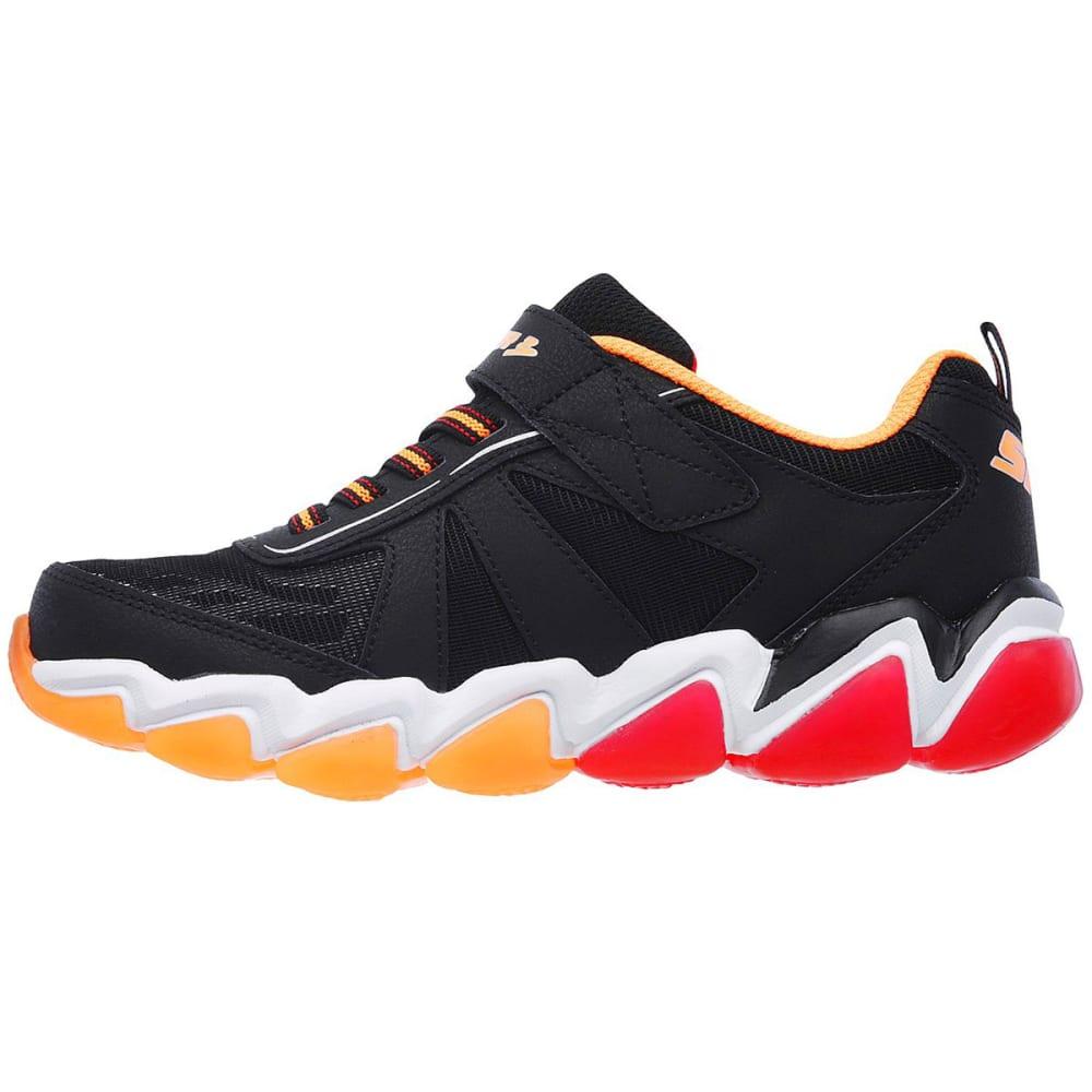 SKECHERS Boys' Skech-Air 3.0 – Downswitch Sneakers, Black/Red - BLACK