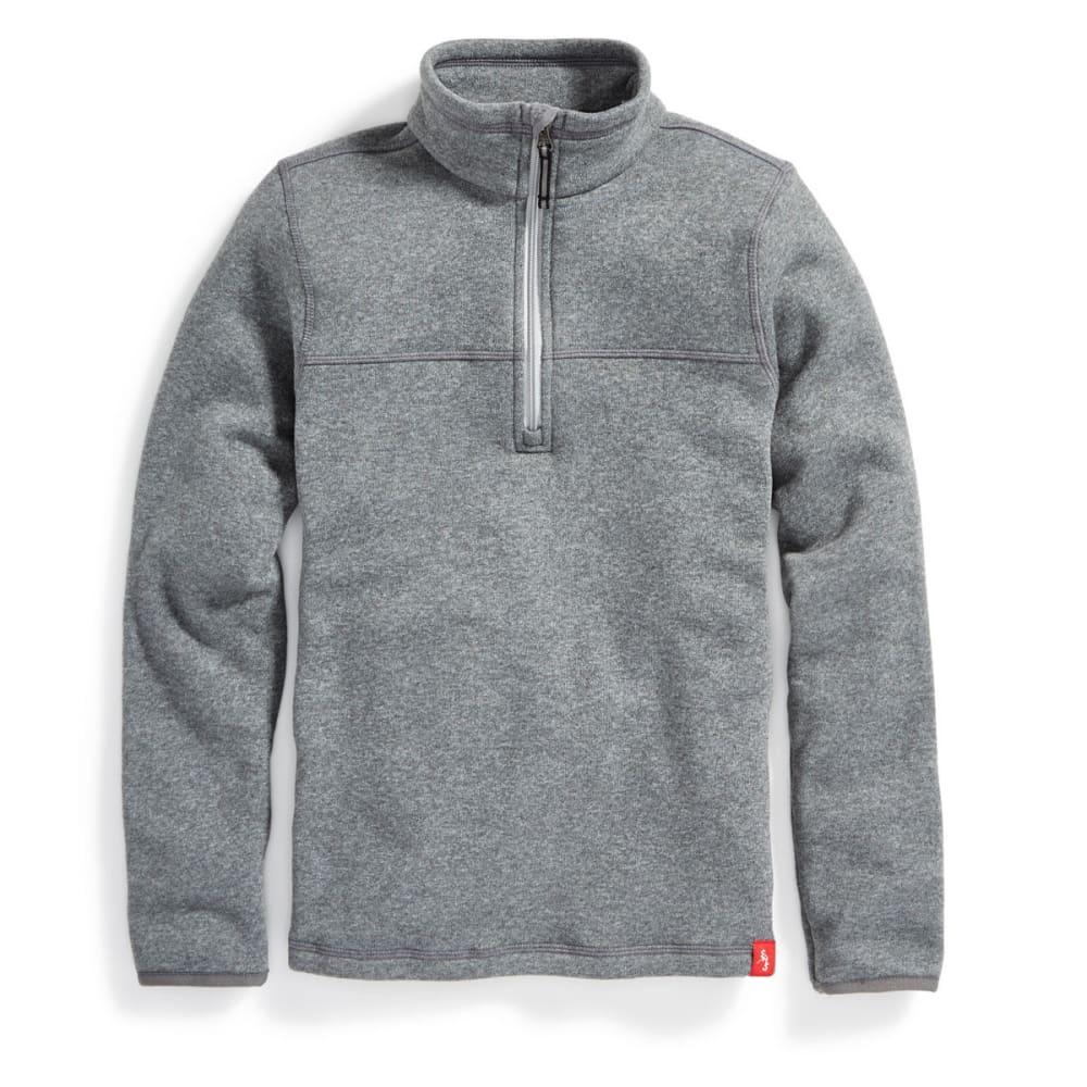 EMS Boys' Roundtrip 1/4 Zip Pullover - CASTLEROCK