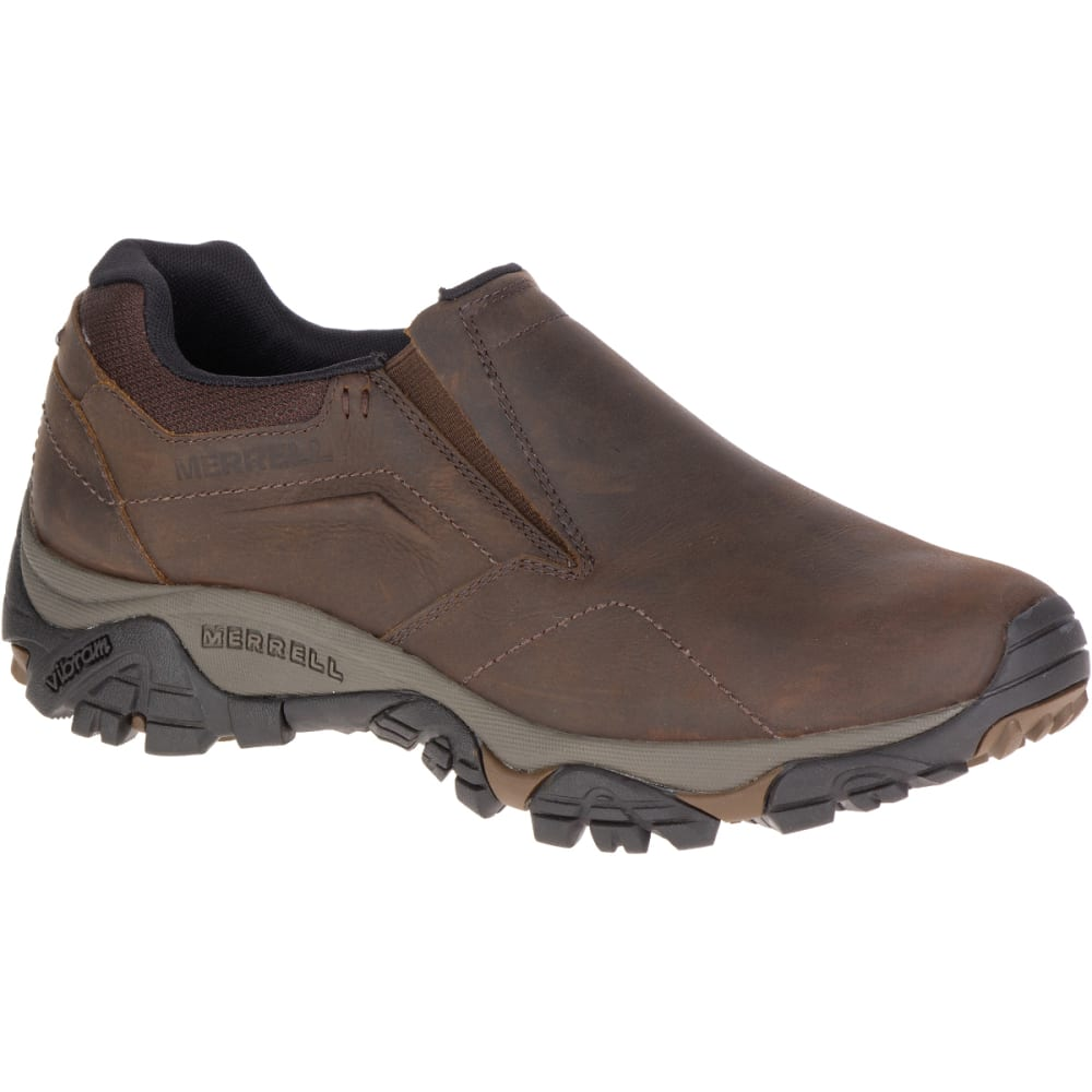 MERRELL Men's Moab Adventure Mocs - DARK EARTH