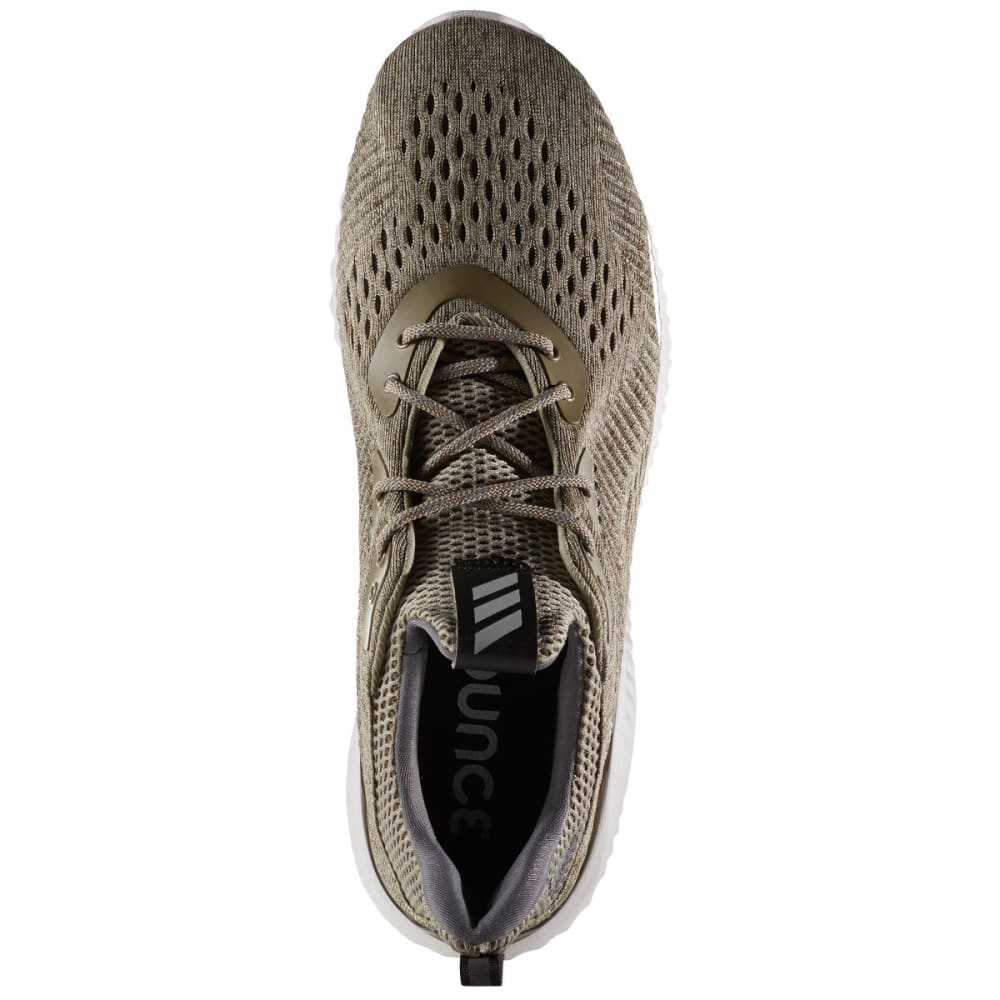 ADIDAS Men's AlphaBounce EM Running Shoes, Olive/Cargo/Grey - OLIVE GREEN