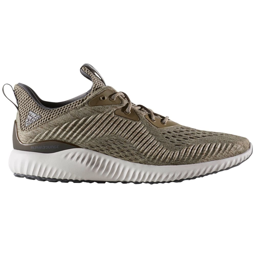 Adidas Men's Alphabounce Em Running Shoes, Olive/cargo/grey