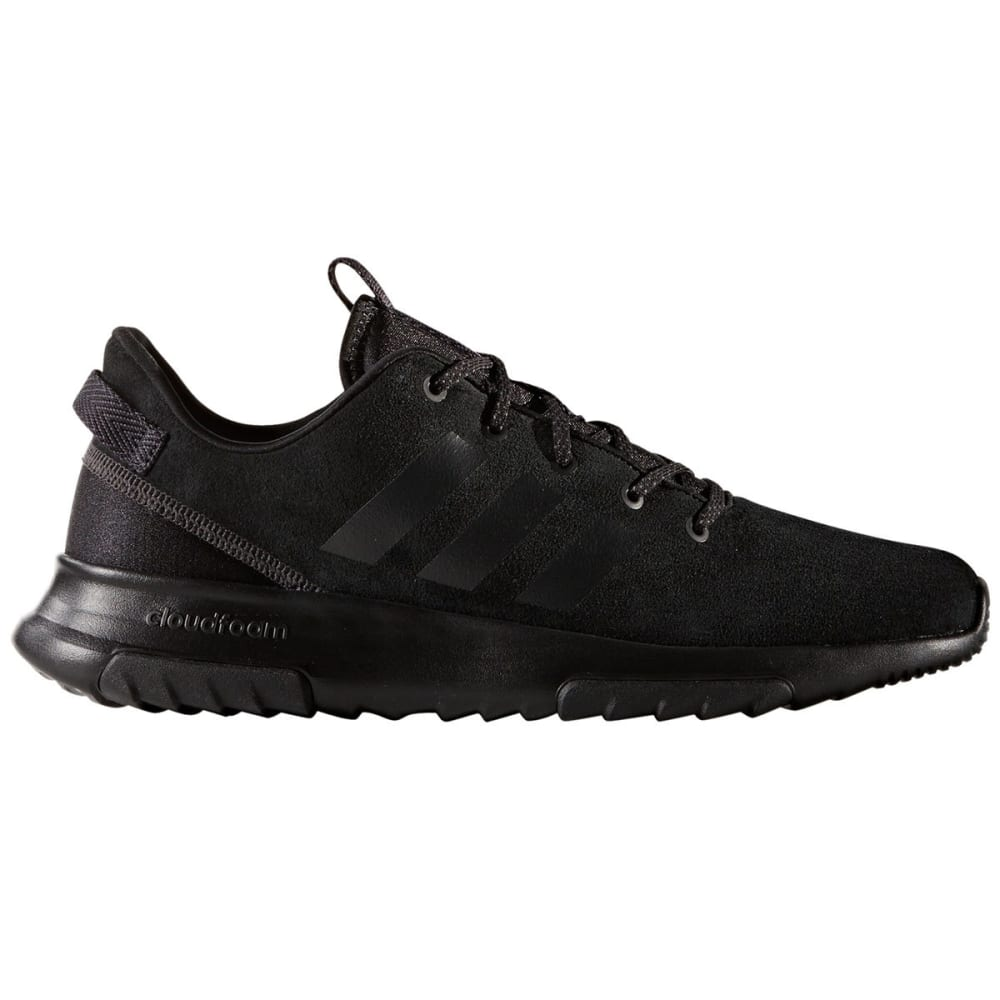 ADIDAS Men's Neo Cloudfoam Racer TR Running Shoes, Core Black/Utility Black - BLACK