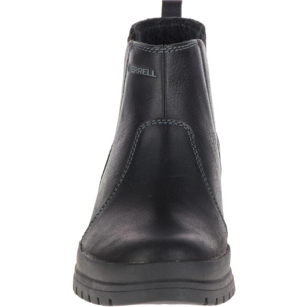 MERRELL Women's City Leaf Chelsea Boots, Black - BLACK