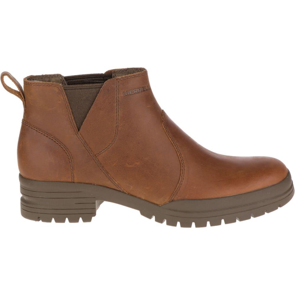 MERRELL Women's City Leaf Chelsea Boots, Oak - MERRELL OAK