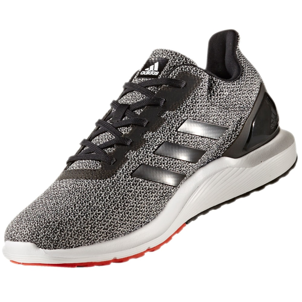 ADIDAS Men's Cosmic 2 SL Running Shoes, Black/Core Black/Core Red - BLACK-CP9483