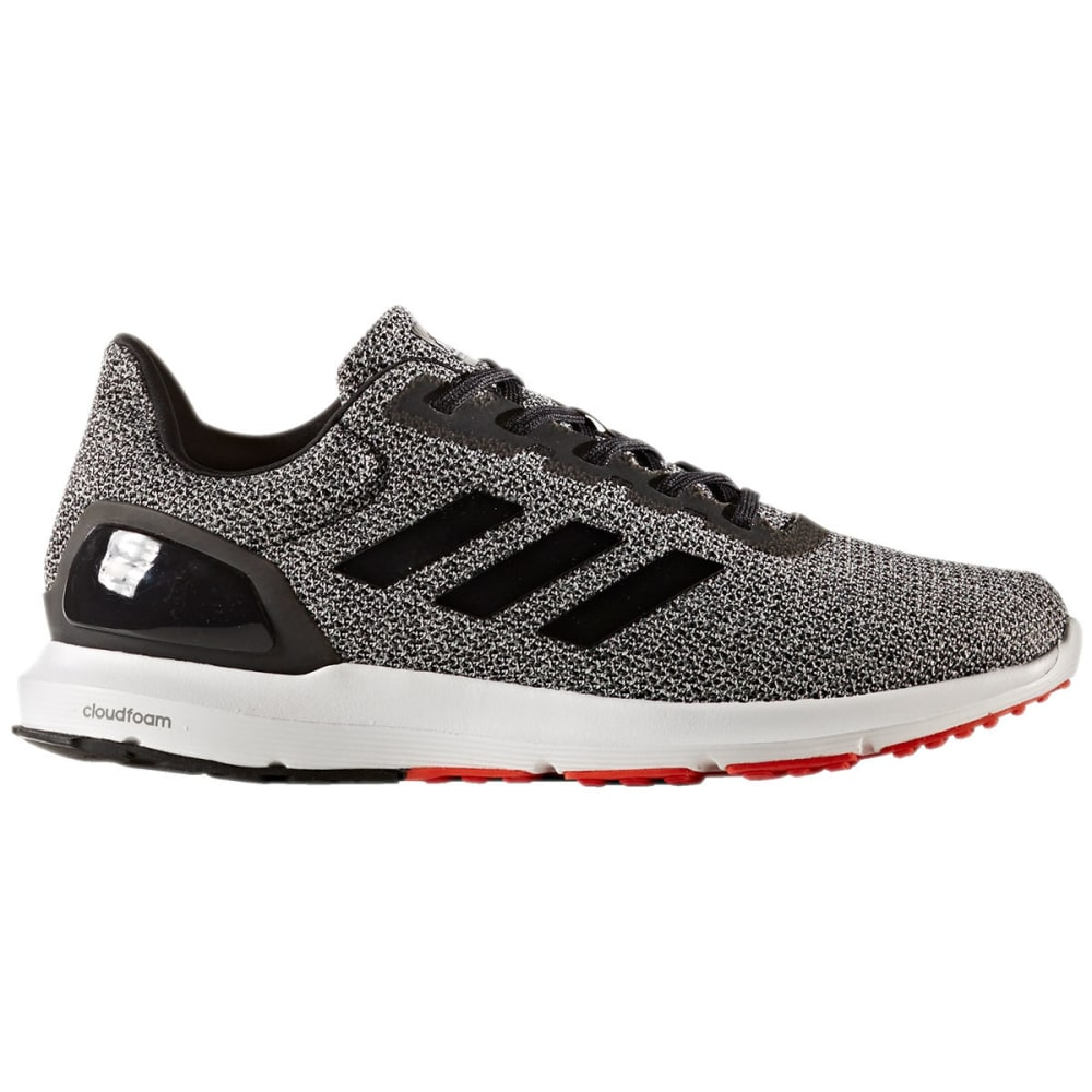 ADIDAS Men's Cosmic 2 SL Running Shoes, Black/Core Black/Core Red - BLACK