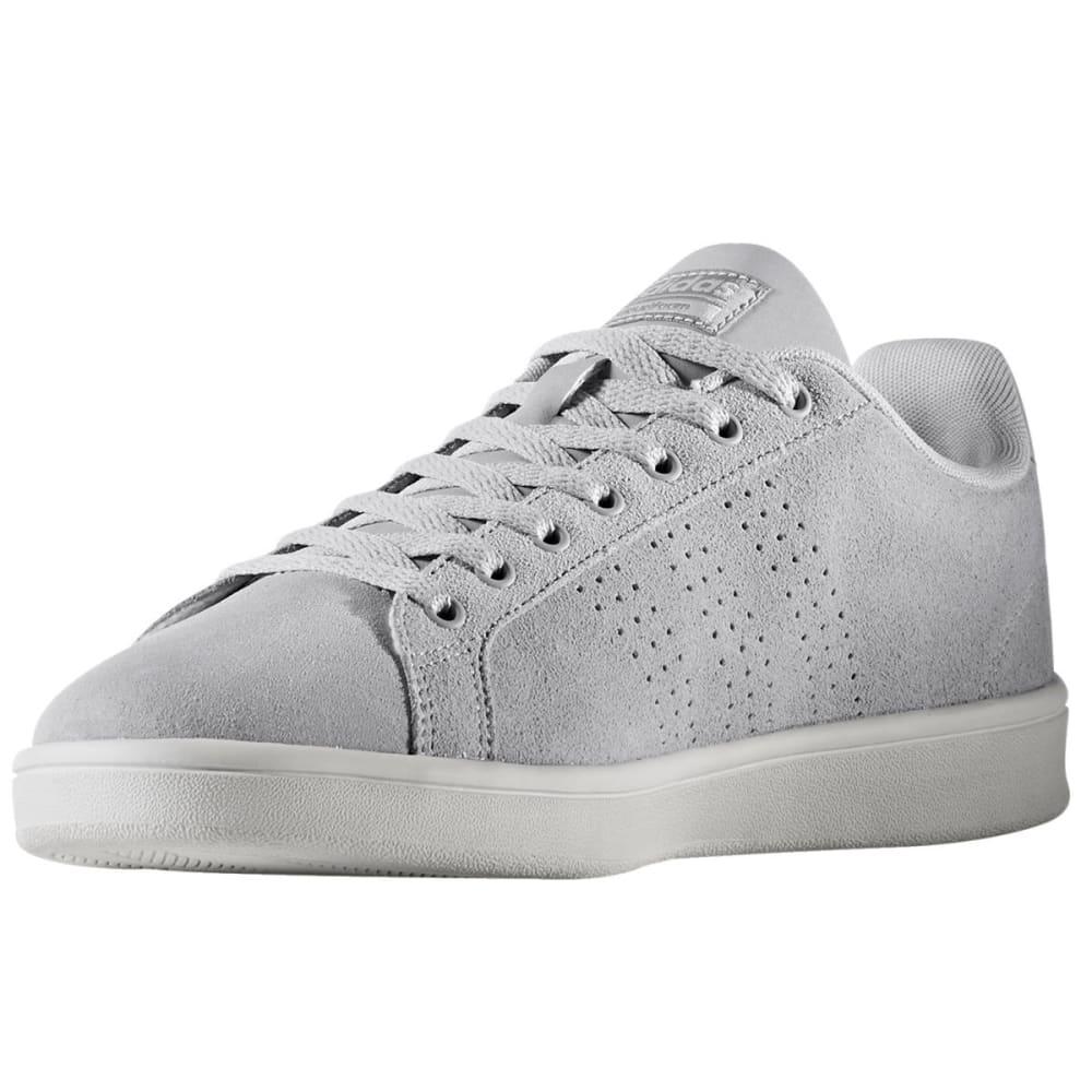 ADIDAS Men's Cloudfoam Advantage Clean Skate Shoes, Clean Grey/Grey Two/White - GREY