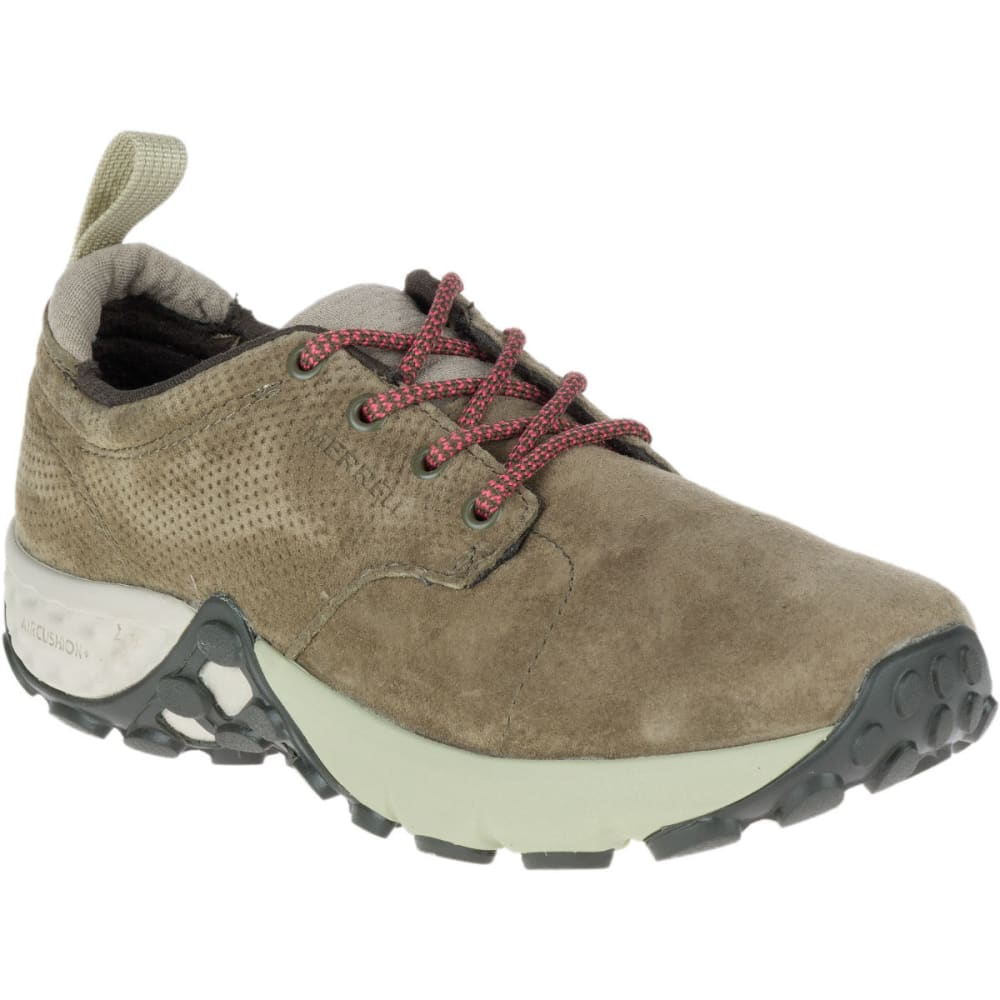 Merrell Women's Jungle Lace Ac+ Hiking Shoes, Dusty Olive - Green, 6