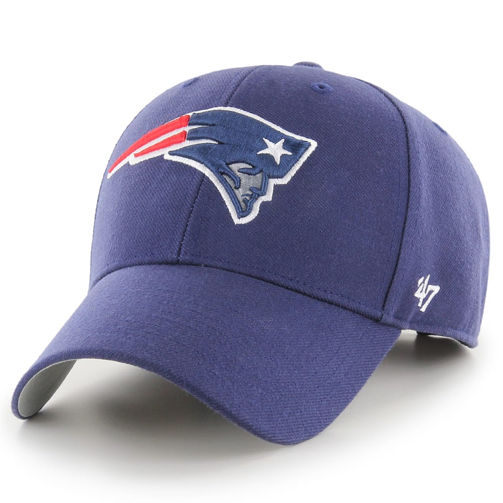 NEW ENGLAND PATRIOTS Men's '47 MVP Adjustable Cap - NAVY