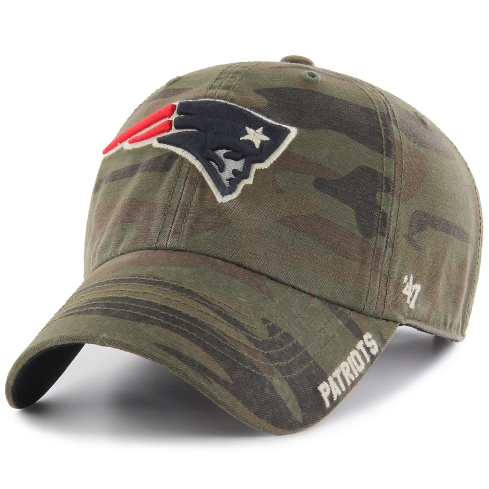 NEW ENGLAND PATRIOTS Men's Outrigger '47 Clean Up Camo Adjustable Cap - CAMO PATRIOTS