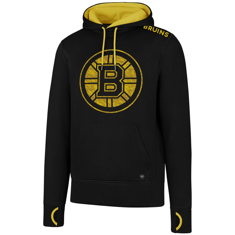 BOSTON BRUINS Men's '47 Forward Fleece Pullover Hoodie - BLACK