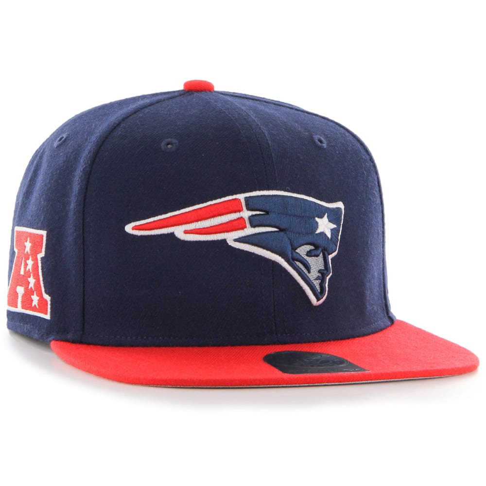 NEW ENGLAND PATRIOTS Men's Super Shot Two Tone '47 Captain Cap - RED