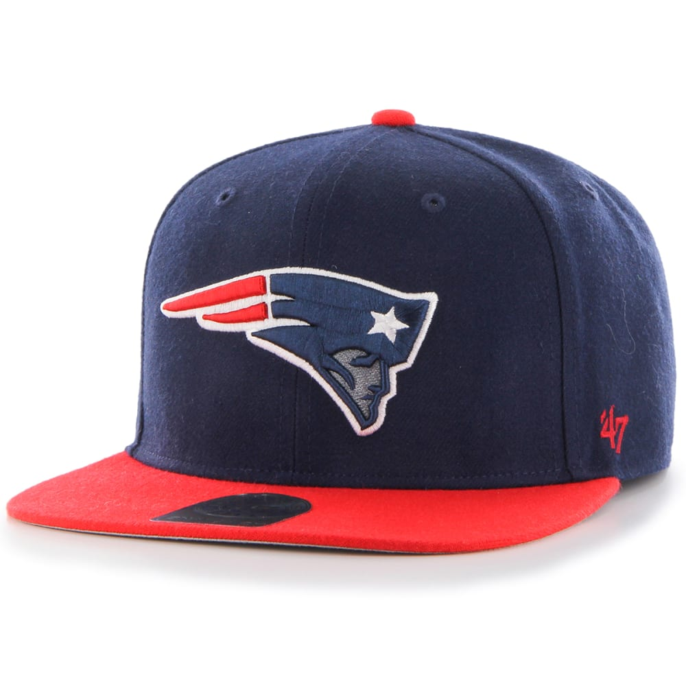 New England Patriots Men's Super Shot Two Tone 47 Captain Cap