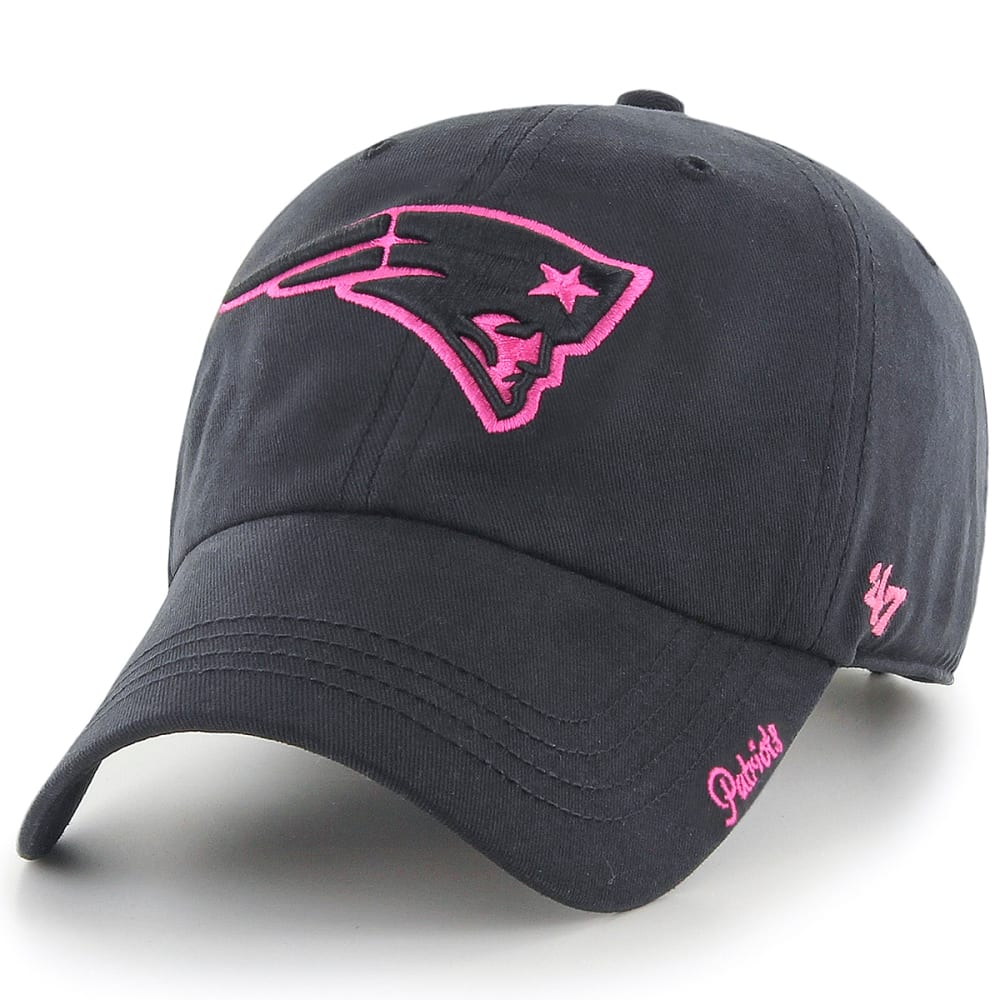 NEW ENGLAND PATRIOTS Women's Miata '47 Clean Up Adjustable Hat - BLACK/PINK