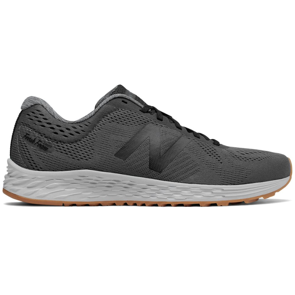 NEW BALANCE Men's Fresh Foam Arishi Running Shoes, Magnet/Black/Overcast, Extra Wide - MAGNET