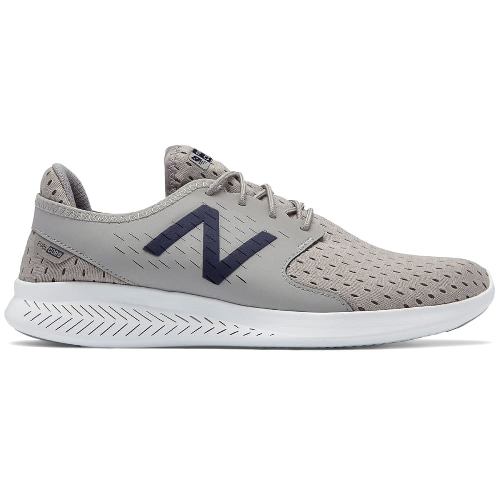 NEW BALANCE Men's FuelCore Coast V3 Running Shoes, Team Away Grey/Pigment - GREY