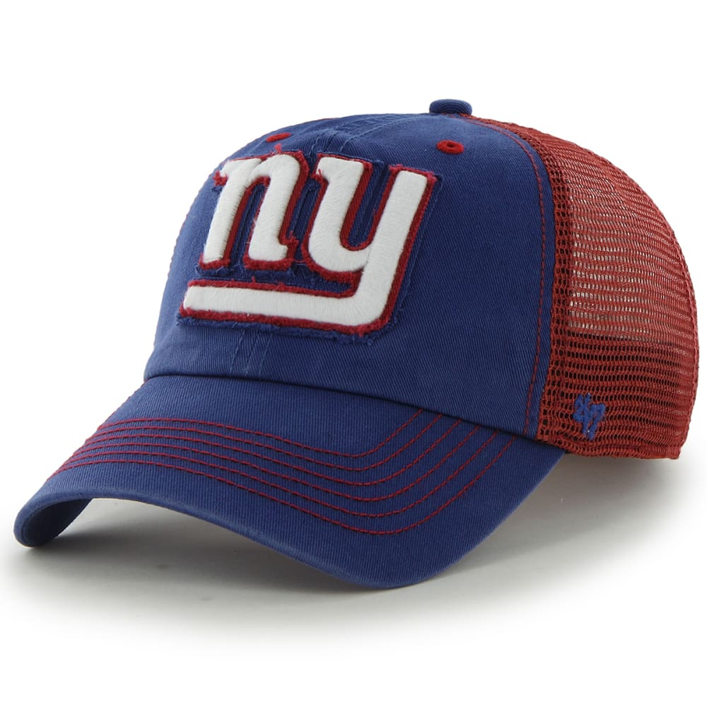 NEW YORK GIANTS Men's Taylor '47 Closer Fitted Cap - ROYAL BLUE