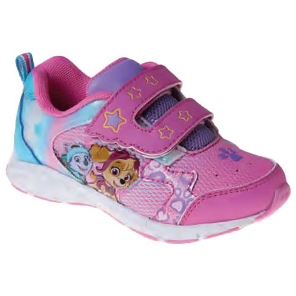 JOSMO Girls' Paw Patrol Double-Strap Shoes - PINK
