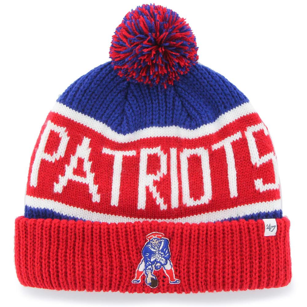 New England Patriots 47 Calgary Cuffed Pom Knit Beanie