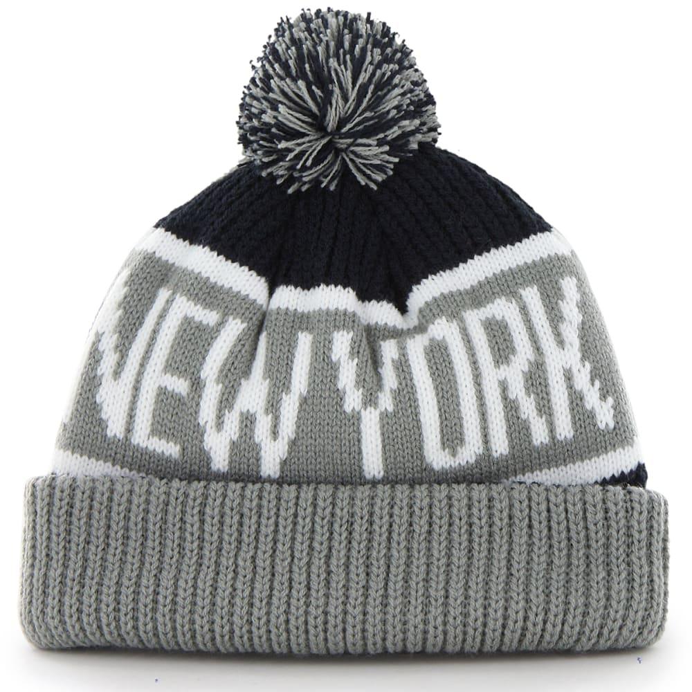 NEW YORK YANKEES '47 Calgary Cuffed Pom Knit Beanie - NAVY