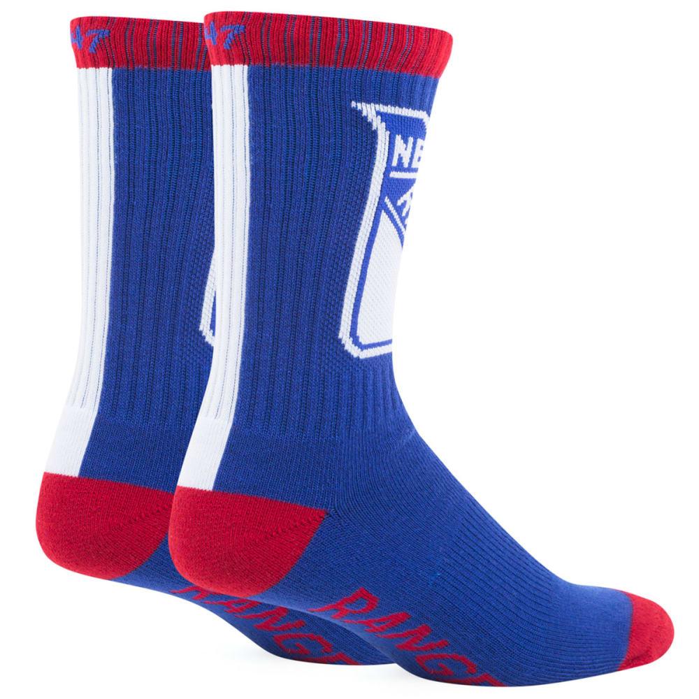 NEW YORK RANGERS '47 Bolt Crew Socks - NAVY