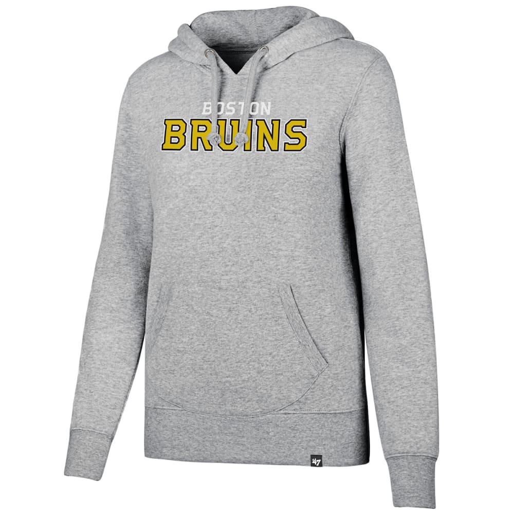 BOSTON BRUINS Women's MVP '47 Headline Pullover Hoodie - GREY