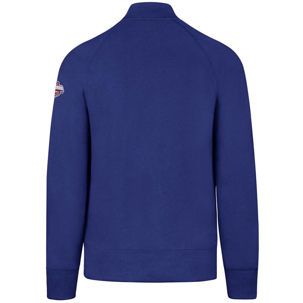NEW YORK RANGERS Men's '47 Sport ¼-Zip Fleece Long-Sleeve Pullover - ROYAL BLUE