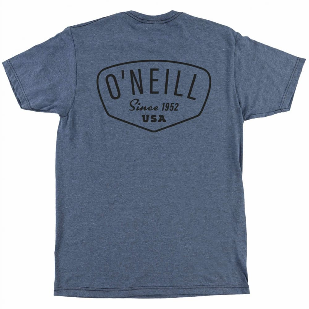 O'NEILL Guys' Shaping Bay Screen Tee - IND-INDIGO BLK HTR