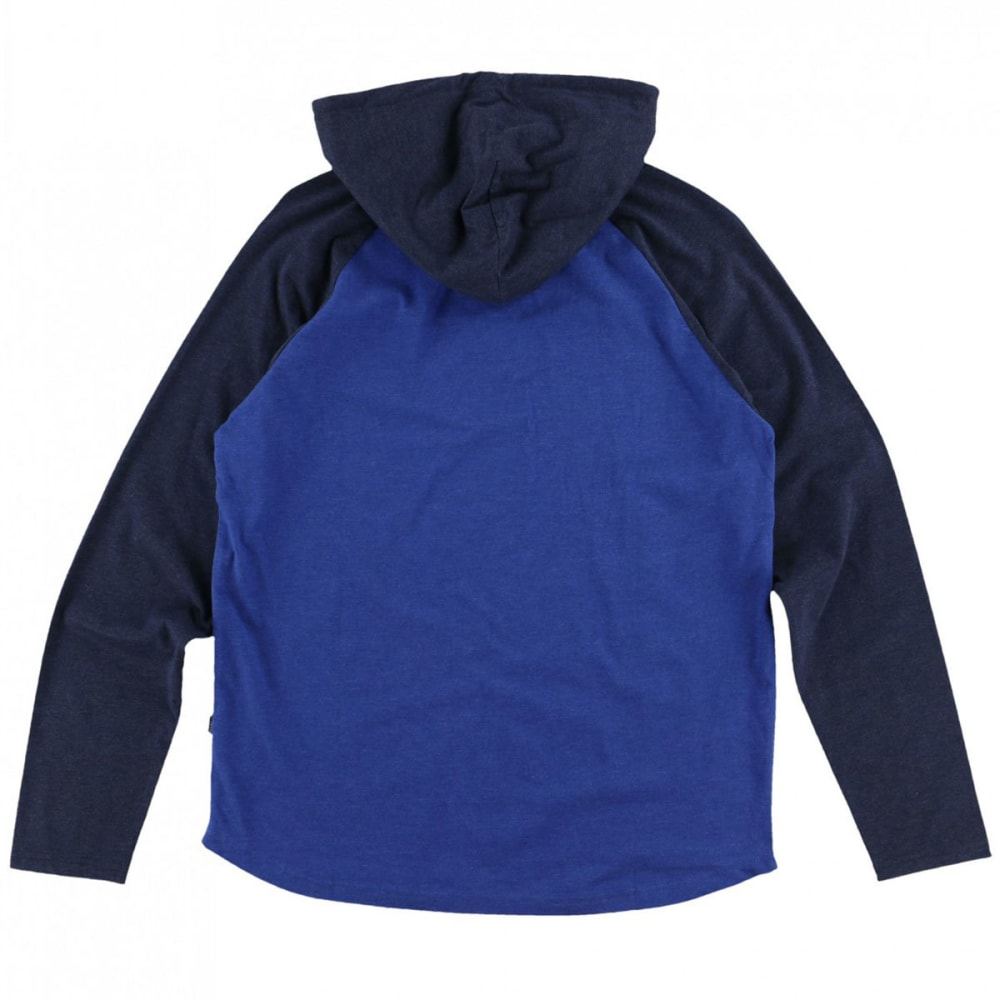 O'NEILL Men's Weddle Hooded Pullover - RYL- ROYAL BLUE