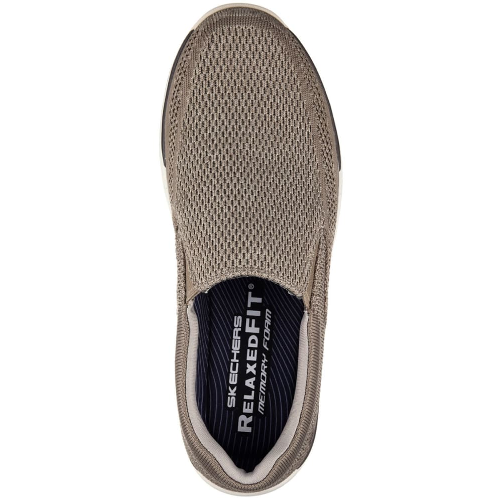 SKECHERS Men's Relaxed Fit: Expected -  Gomel Slip-On Shoes, Taupe - TAUPE