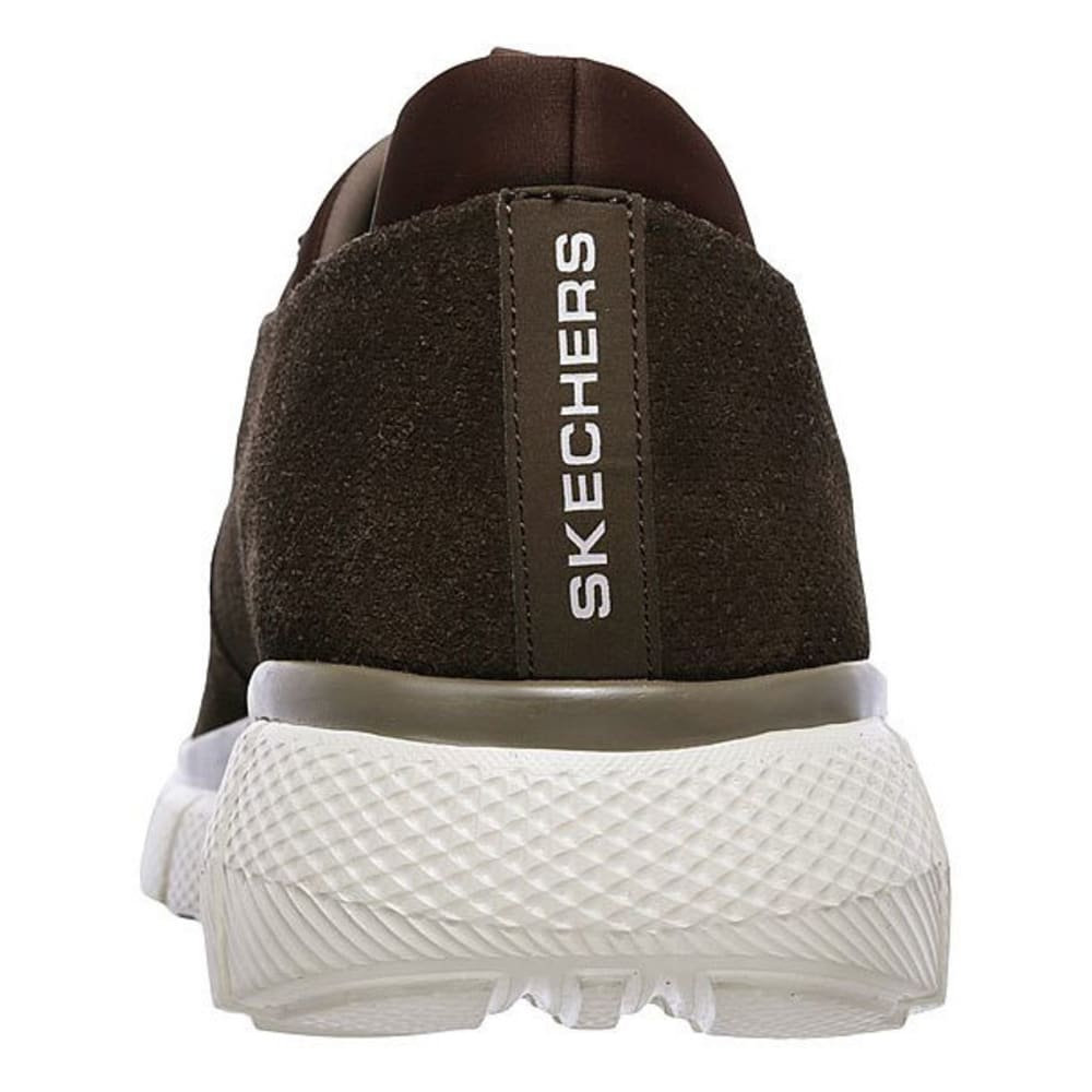 SKECHERS Men's Equalizer 2.0 – Lodini Slip-On Casual Shoes, Chocolate, Wide - CHOCOLATE