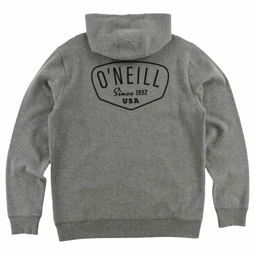 O'NEILL Guys' Shaping Bay Pullover Hoodie - HGR-HEATHER GREY