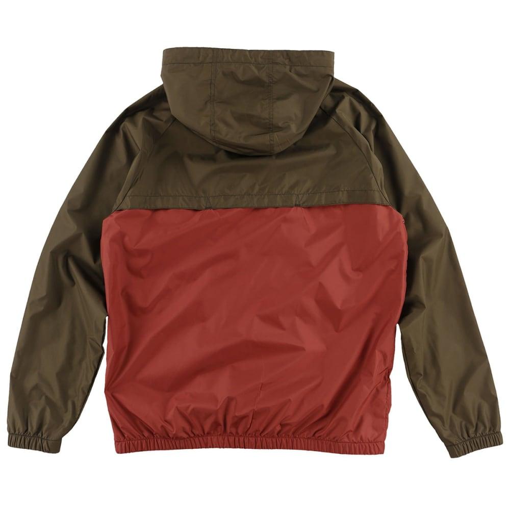 O'NEILL Guys' Traveler Windbreaker Jacket - BRN-BROWN